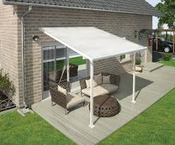 White Awning 10 Ft Patio Covers White Awnings Canada