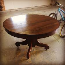 Oak Pedestal Table 58 Water Street The Pedestal Table Is Finished And My Thoughts