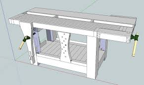 build a small workbench wooden plans woodworker s power tools
