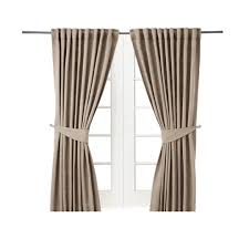 Curtains For A Picture Window Blekviva Window Curtain Window Treatments Ikea Traditional