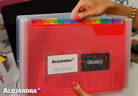 alejandra organization video receipt organizer for home office organization
