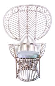 Cane Peacock Chair For Sale Vintage U0026 Used Side Chairs Chairish