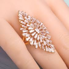 big finger rings images Blucome luxury aaa zircon copper ring clear cz micro pave gold jpg