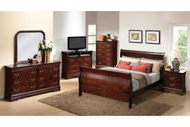 Black Lacquer Bedroom Furniture Modern Black Painted Oak Wood Full Size Bed Frame Which Furnished
