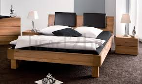 Oak Bed Hasena Oakline Noro Oak Varus Varo Solid Wood Bed Head2bed Uk