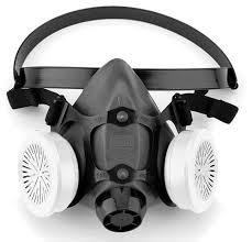 Masker Gas 5500 series half mask respiratory protection honeywell safety