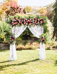 wedding arches diy diy wedding arbor from fiftyflowers
