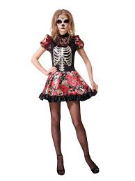halloween doll costumes adults day of the dead doll costume ac653 fancy dress ball