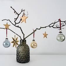 geometric copper hanging decoration att pynta
