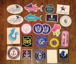 preppy decals how to get free preppy stickers part two live the prep