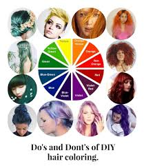 dos and dont u0027s of diy hair coloring coiffe pinterest diy