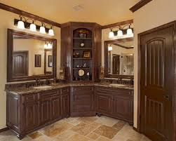 super idea corner bathroom cabinet lovely ideas vanity cabinets