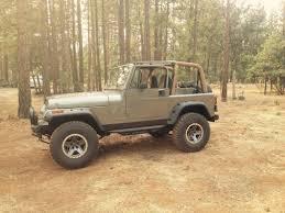 light brown jeep wrangler smittybilt wrangler fender flares 17191 87 95 wrangler yj free