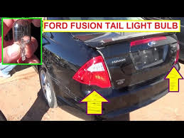 2011 ford fusion tail light ford fusion repair and how to videos second generation nhltv net