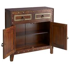 heera brown mango wood cabinet pier 1 imports
