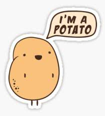 Meme Potato - internet meme potato stickers redbubble