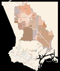 Csudh Map Dominguez Slough L A Creek Freak