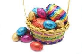 free stock photo 7889 basket of easter eggs freeimageslive