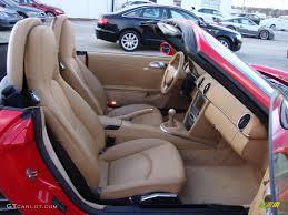 Porsche Boxster Interior - sand beige interior 2005 porsche boxster s photo 41473843
