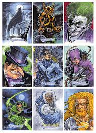 dc comics legacy sketch cards by raydillon on deviantart