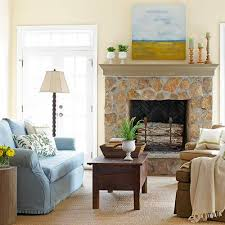Shelf Decorating Ideas Living Room Robust Green Garland As Wells As Mantel Surround In Living Room