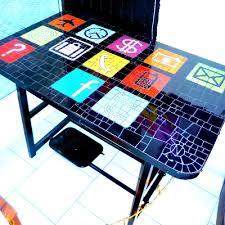 agrandir icones bureau bureau en mosaique tables objets mosaïque atelier de mosaïques