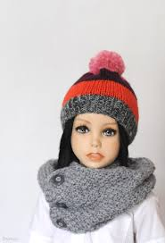 sale toddler pompom hat knit beanie hat boys knitted hat