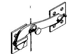 Sliding Barn Door Latch by Barn Door Latch Heavy Duty Opens From Both Sides From Hardware
