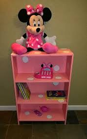 Princess Bookcase A Broken Thrift Bookcase Redone Into Pink W White Polka Dots