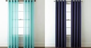 Jcpenney Home Collection Curtains Jcpenney Up To 80 Curtains Hip2save