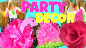 Summer Party Decorations Diy Summer Party Decorations Watermelon Pinata Youtube