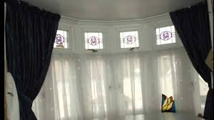 Curved Curtain Rods For Bow Windows Baywindow Tracks Poles Designercurtainscollection At Www