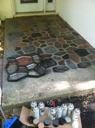Can You Paint Patio Pavers Stunning Painting Concrete Patio Pavers Painted Patio Blocks Can