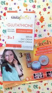 Gluta Fresh gluta fresh glutathione whitening express 3 in 1 www ivisklontong