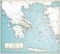 Greece Map Outline by Mythological Map Of Greece History Pinterest Ancient Greece