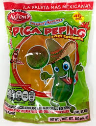 where to buy mexican candy buy pica pepino paletas spicy cucumber lollipops by alteno