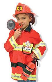 fireman costume doug chief play costume dress up