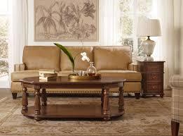 hooker furniture living room leesburg oval cocktail table 5381 80110