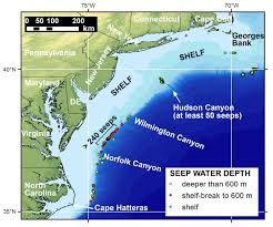 Map Of Mississippi State University by Natural Methane Seepage Is Widespread On The U S Atlantic Ocean