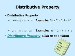 lesson 1 8 properties of real numbers ppt video online download