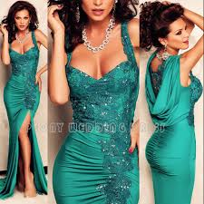 free shipping buy best sweetheart emerald green evening