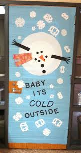 snowman door decorations baby its cold outside snowman door decoration myclassroomideas