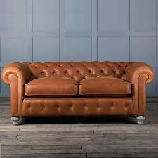 vintage tan leather chesterfield sofa okaycreations net