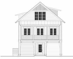 Beach House Plans On Piers by Beach Style House Plan 3 Beds 2 50 Baths 1863 Sq Ft Plan 443 12