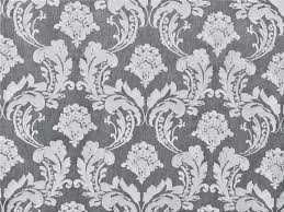 gray u0026 white embroidery damask curtain fabric by the yard