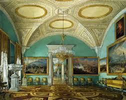 eduard hau the new museum of the hermitage watercolor a ca