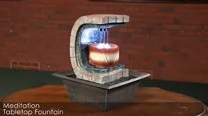 Meditation Home Decor Sunnydaze Meditation Tabletop Fountain Xss 692 Youtube