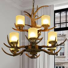 Chandelier Glass Globes Rustic 9 Light Glass Shade Two Tiered Cheap Antler Chandelier