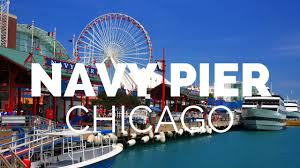 Chicago Tourist Map Chicago Navy Pier Tour Nepali Brewboy Adventures Youtube