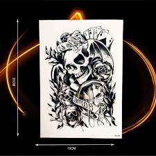 aliexpress com buy devil evil damon temporary tattoo stickers